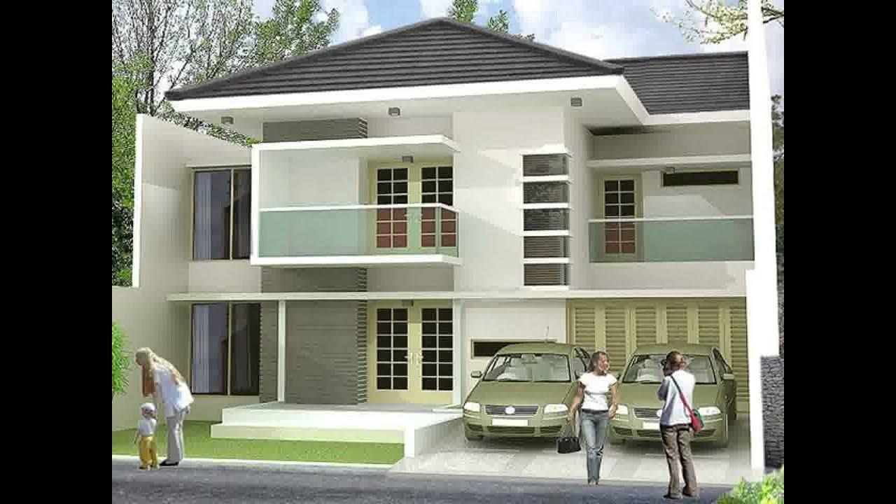 desain rumah minimalis type 36 2 lantai yg sedang trend ...
