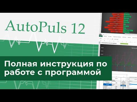 Полная инструкция по работе с программой Автопульс 12