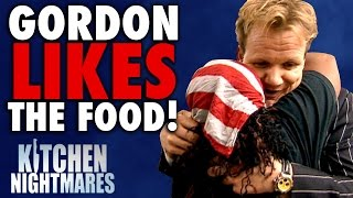 6 Times Gordon Ramsay Actually LIKED THE FOOD! | Kitchen Nightmares COMPILATION thumbnail