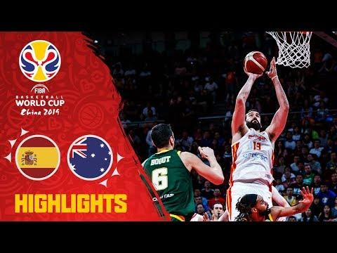 VIDEO: Así fue la victoria de España contra Australia. Mejores momentos