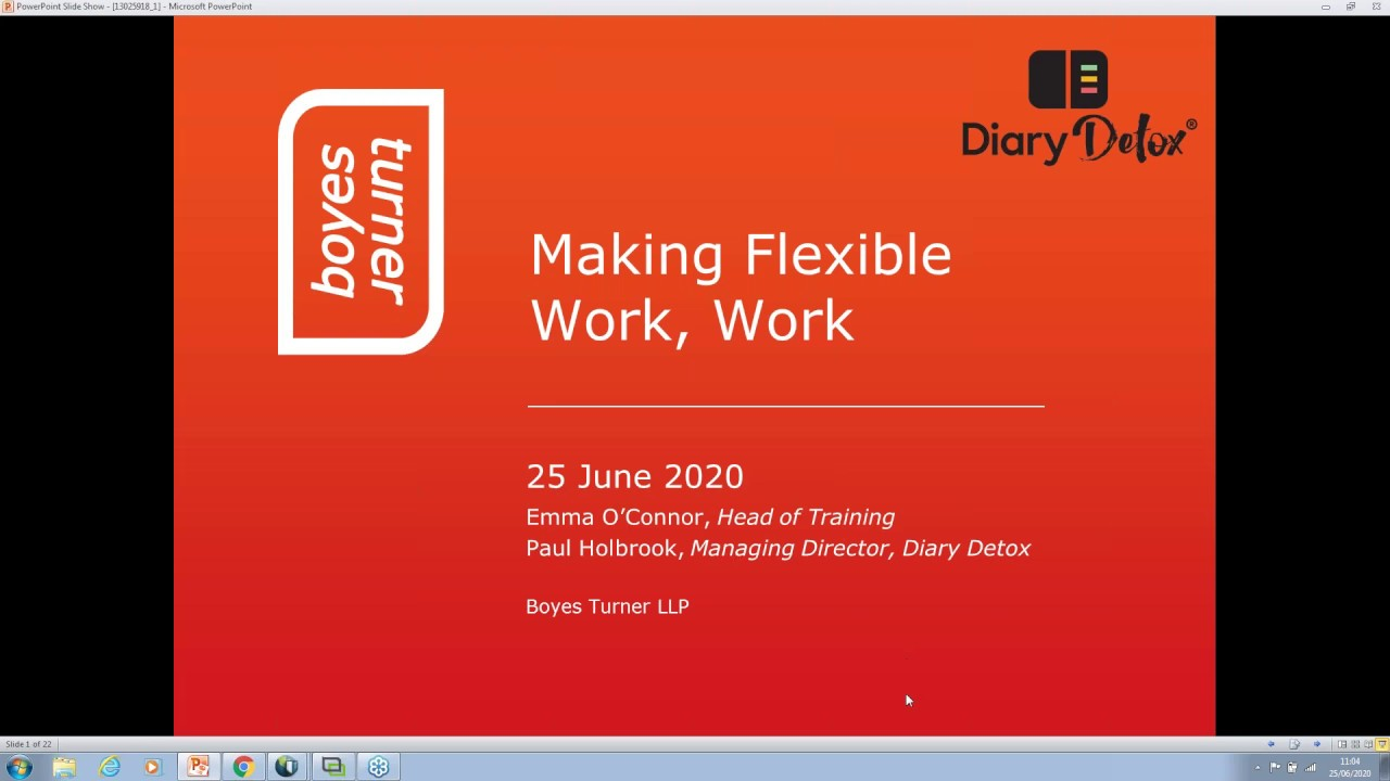 Making Flexible Work, Work: With Paul Holbrook, Managing Director, Diary Detox