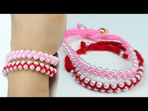 DIY Friendship Bracelets. Easy DIY Bracelet Projects! Make at Home!