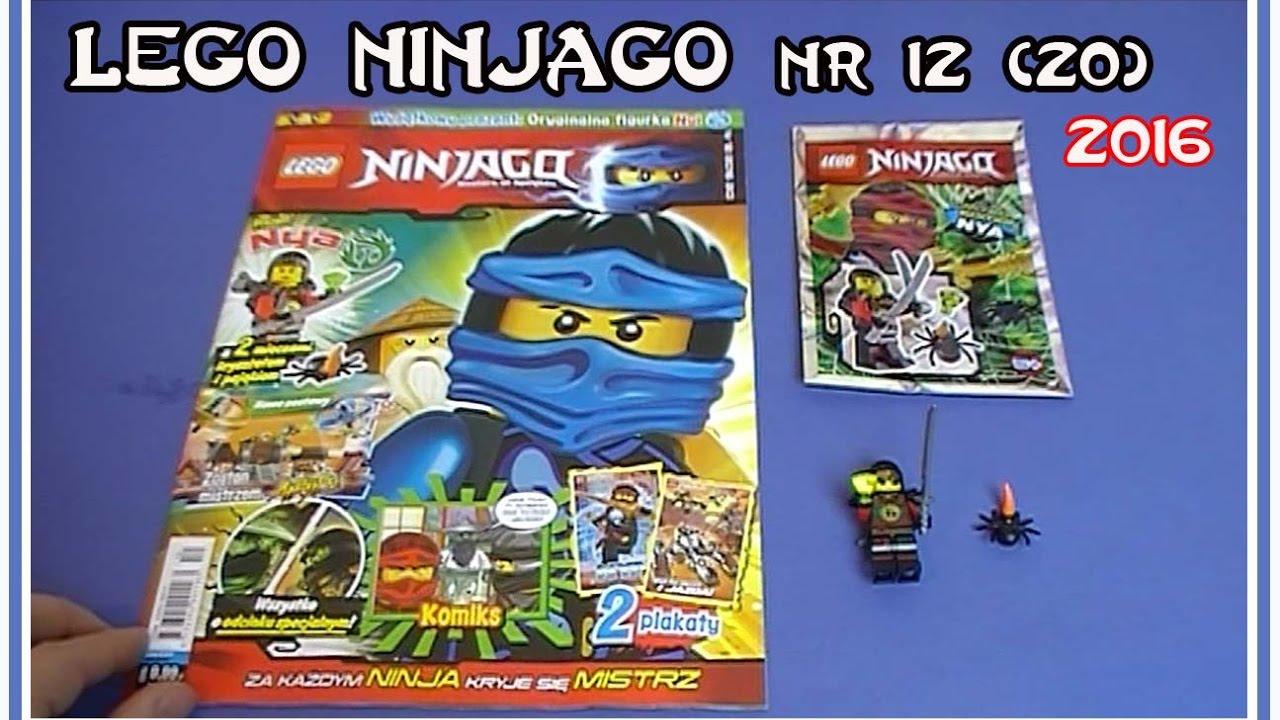 Otwieramy Magazyn Lego Ninjago Nr 12 20 Z 2016 Figurka Nya Z 2