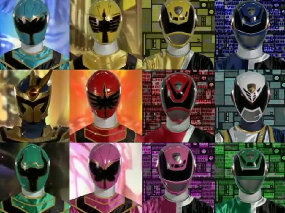 Mahou Sentai Magiranger y Tokusou Sentai Dekaranger team ...