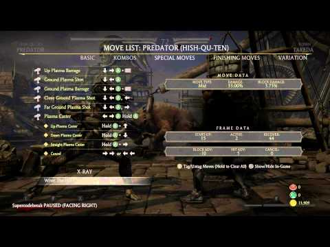 Mortal Kombat X Tutorial How to Predator ANYTIME Brutality 1080