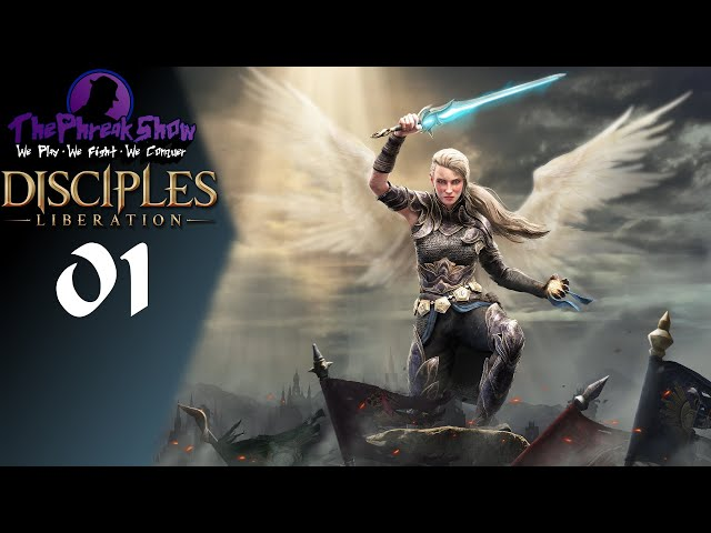 Let's Play Disciples: Liberation - Part 1 - Sewer Sneaks!