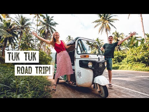 We Drove a Tuk Tuk Across SIARGAO! (General Luna to Burgos, Philippines)