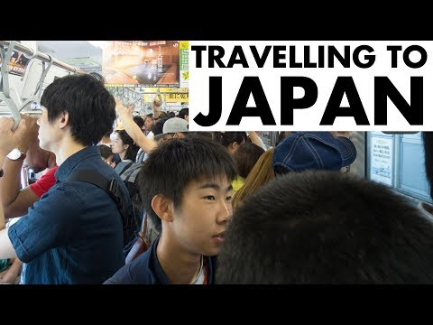 TRAVELLING TO JAPAN