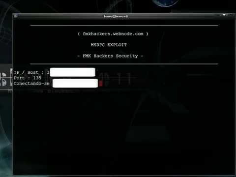 MSRPC Exploit  Microsoft Remote Procedure Call (mrbrunohacked)