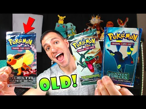 Opening Some Of The RAREST POKEMON CARDS BOOSTER PACKS!