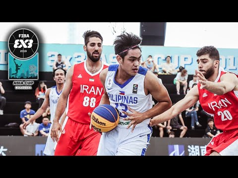 Gilas 3x3 Men def. Iran, 21-19 (VIDEO) FIBA 3x3 Asia Cup 2019