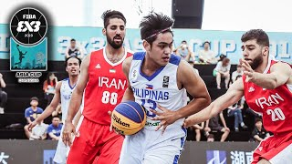 Gilas 3x3 start Day 2 with a hard fought W over Iran | Men's Full Game | FIBA 3x3 Asia Cup 2019
