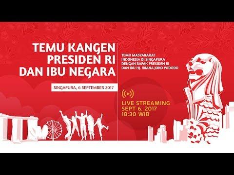 Temu Masyarakat Indonesia di Singapura dengan Presiden Joko Widodo, Singapura 2017