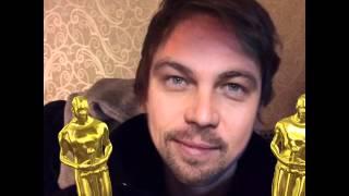 Лео Ди Каприо получил оскар за выжившего и очень доволен(Leo DiCaprio get oscar MSQRD)