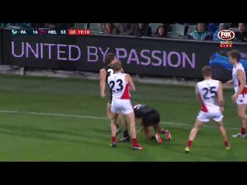 Round 21 AFL - Port Adelaide v Melbourne Highlights