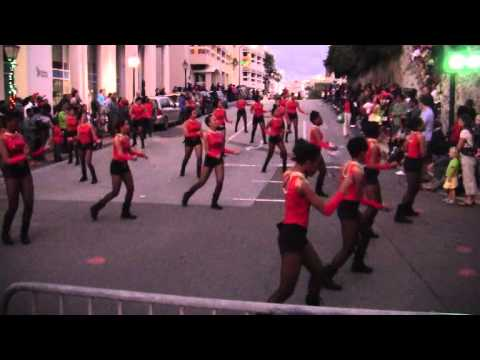 #2 Split Personality At Santa Parade Hamilton Bermuda November 27 2011