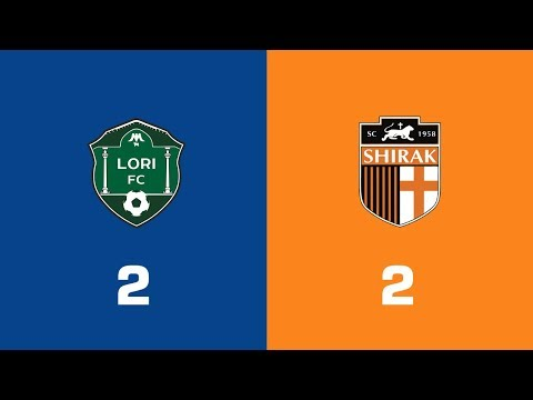 Lori - Shirak 2:2, Armenian Premier League 2018/19, Week 29