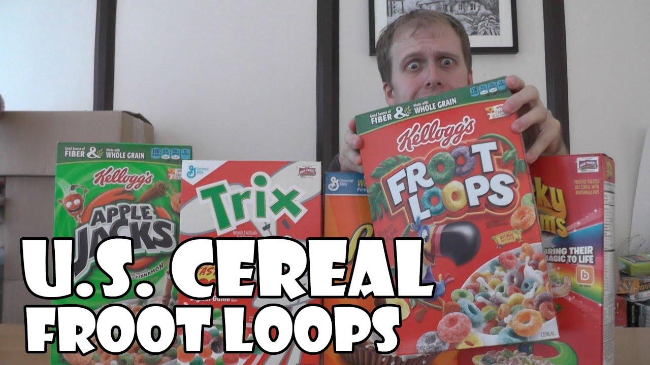 Mandela Effect Froot Fruit Loops - YouTube