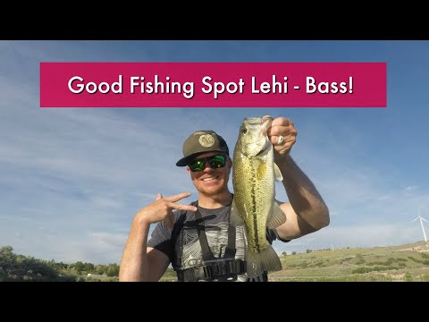 Good Lehi Fishing Spot - Largemouth Bass Oak Hollow