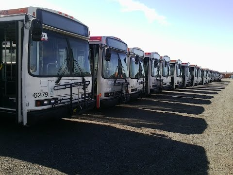 5/14/16 Retired SF Muni 2000-2002 Neoplan AN460's & 1999 NABI 416's (416.12)'s at Auction