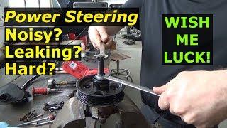 Dodge Ram - Hard steering Noisy Power steering pump Fixed!