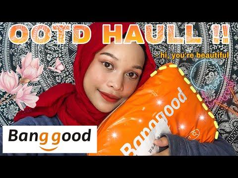 Full set OOTD HAULLL by BANGGOOD MALAYSIA   Natasya Najwa