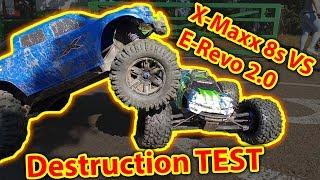 Traxxas E-Revo 2.0 VS X-Maxx 8s Durability test epic RC Car Fun