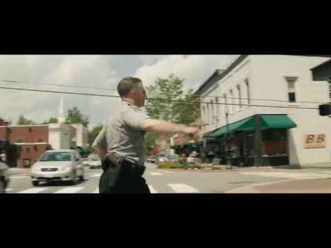 Three Billboards window scene