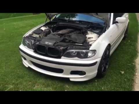 BMW E46 Cooling system full DIY with belt and spark plugs