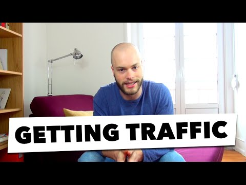 How To Get Traffic To Your Website: Facebook Dark Posts & Organic Search Traffic | #036