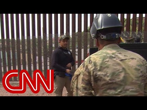 Here's what troops on US-Mexico border are actually doing