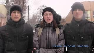 На перехресті вулиць Гадяча(Киевский туристический клуб