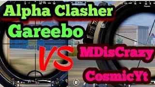 MDisCrazy,CosmicYt VS Alpha Clasher,Gareebo||Last Circle fight  #Mdiscrazy #alphaclasher #jugu8bp