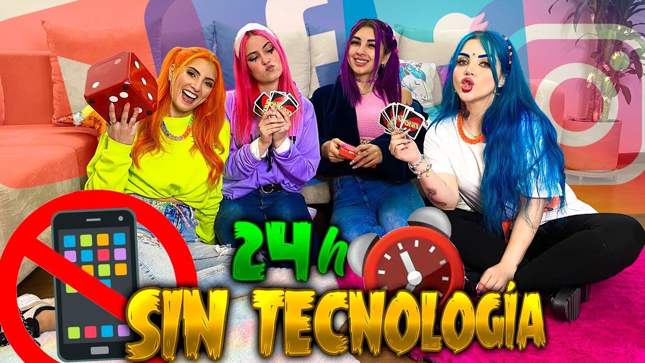 24 HORAS SIN TECNOLOGÍA (Si usas Internet pierdes) - Coloridas