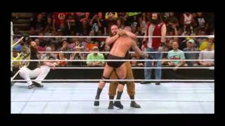 Braun Strowman Finishers | Lifting Arm Triangle Choke & Yokosuka Cutter