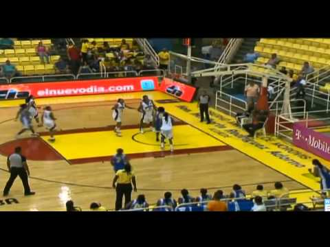 Centro Basket Femenino 2012 Republica Dominicana 72 vs Islas Virgenes 69