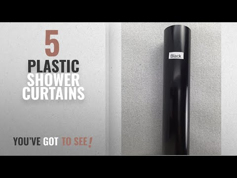 Top 10 Plastic Shower Curtains [2018]: Shower Rod Cover by Jenacor   Rod Cover Rod Covers Plastic