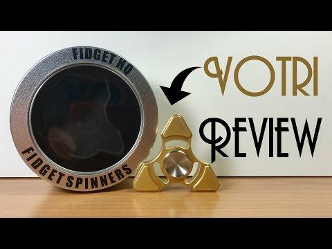 Votri Brass Triangle Tri from FidgetHQ | Review