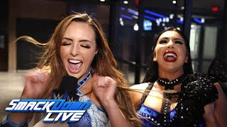 The IIconics celebrate their huge victory: SmackDown Exclusive, March 19, 2019