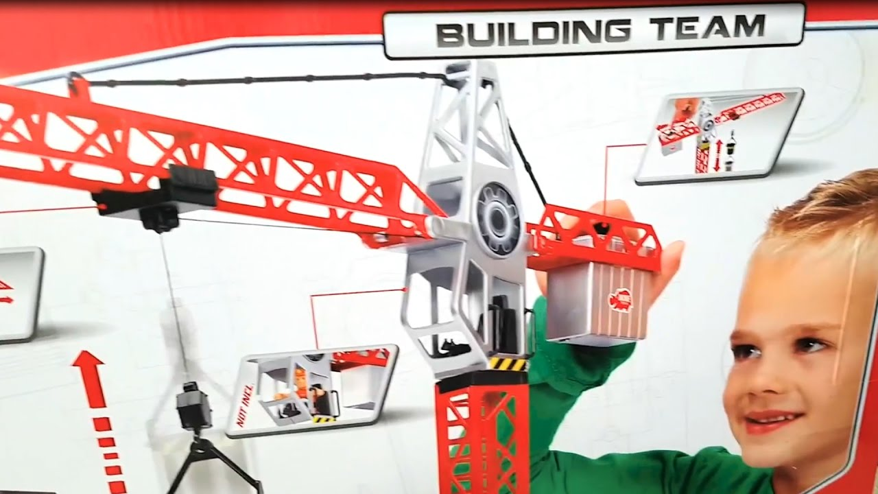 b818a487f79d6 Dickie Toys 67 cm nosturi / crane / grúa / кран / Kran / Grue / 起重机 /  ปั้นจั่น / vinç / jeřáb