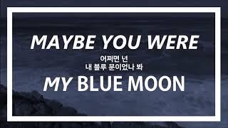 Скачать 가사 해석 트로이 시반의 애절한 사랑 노래인 블루 문 Blue Moon 해석 보먕 자막 채널