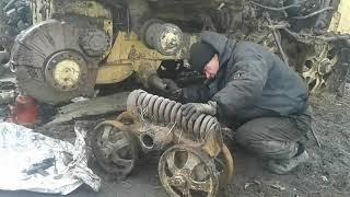 Жизнь и работа в деревне.Ремонт каретки трактор ДТ 75