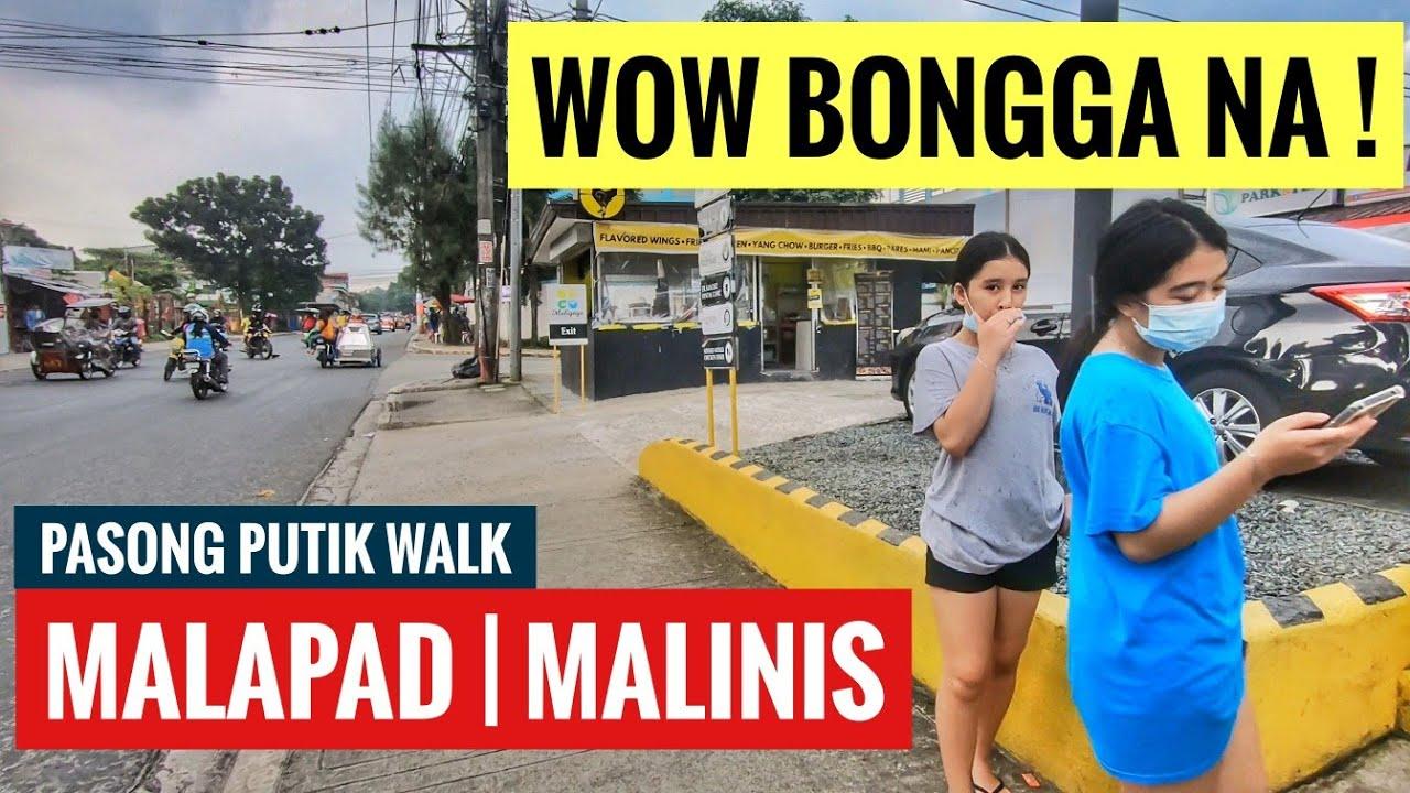 MALAPAD NA | MALINIS PA! PASONG PUTIK PROPER UNANG TANAW ! METRO MANILA UPDATE WALK