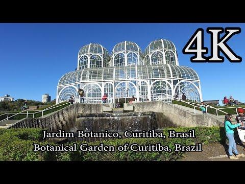4K - Botanical Garden of Curitiba - Jardim Botânico de Curitiba Aug 2016