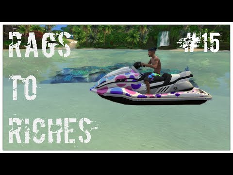 The Sims 4: Rags to Riches | Island Living | Jetski tolvaj #15