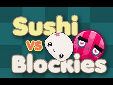 Sushi Vs Blockies Level1-20 Walkthrough
