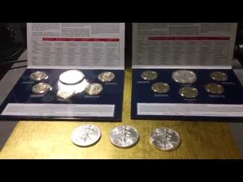 Burnished vs  Bullion American Silver Eagles in HD