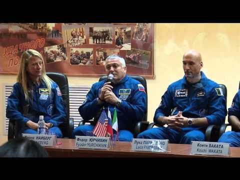 Expedition Crew Meets With Russian State Commission and Media