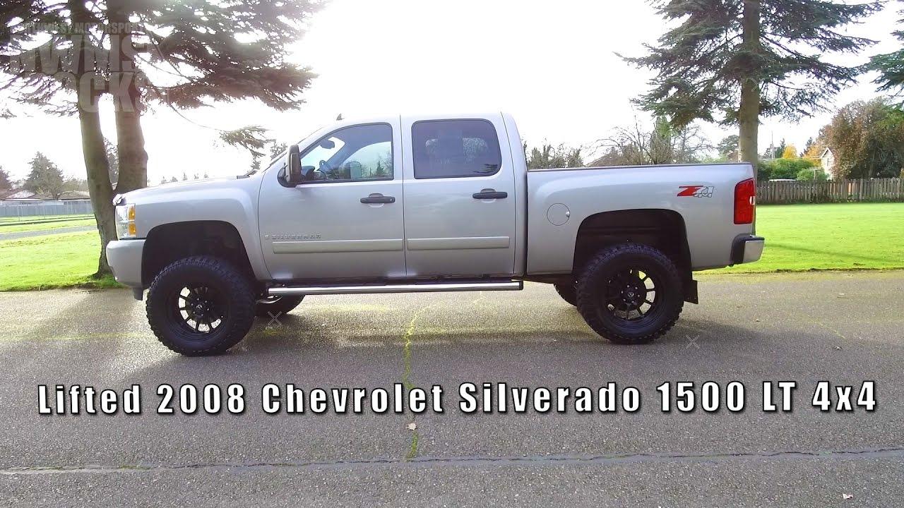 2008 Chevy Silverado Lifted >> Lifted 2008 Chevrolet Silverado 1500 Lt 4x4