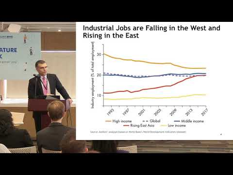 The World Development Report 2019 by Simeon Djankov, Director of the WDR2019